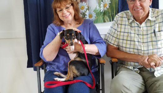 Happy Tails, Snickers!