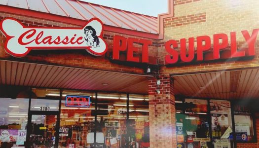 Thank you, Classic Pet Supply Stores!