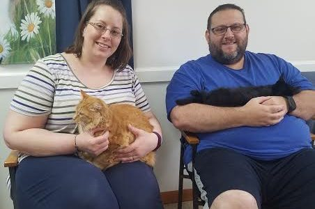 Two Kitties Adopted Together!