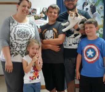Congrats to 'Whisper' & her new family!