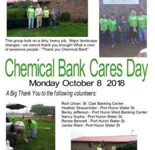 Chemical Bank Cares Day