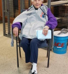 95 Years Young & Participating in T.N.R.