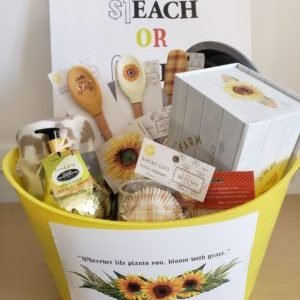 Sunflower Raffle Basket